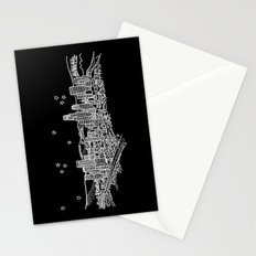 Los Angeles, California City Skyline Stationery Cards