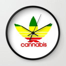 Cannabis Ganja Wall Clock