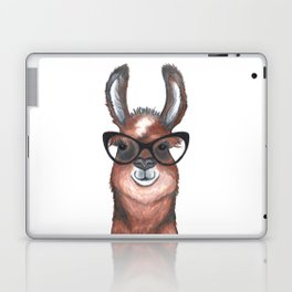 Hipster Llama Laptop & iPad Skin