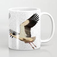 wings Mugs featuring Wings by Avigur