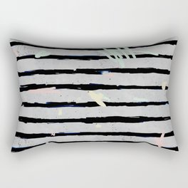 Whimsical Stripes Rectangular Pillow