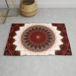Mandala feel the cosmic energy Rug