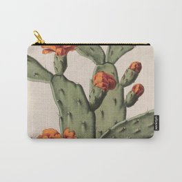 Botanical Cactus Carry-All Pouch