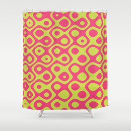 Brain Coral Pink - Coral Reef Series 023 Shower Curtain