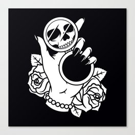 Dead on The Inside Canvas Print