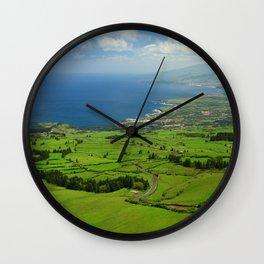 Sao Miguel, Azores Wall Clock