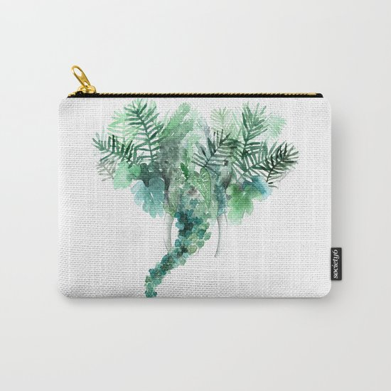 Madre natura - Elephant Carry-All Pouch