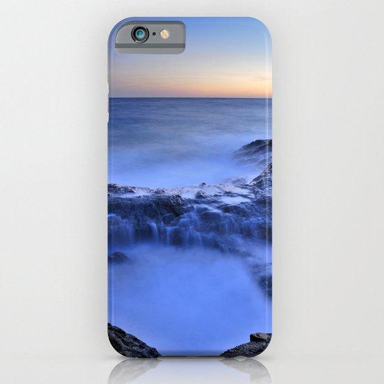 Blue seaside iPhone & iPod Case