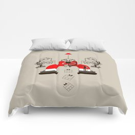 Who loves christmas? Comforters