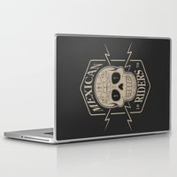 mexican Laptop & iPad Skins featuring mexican riders by Taranta Babu