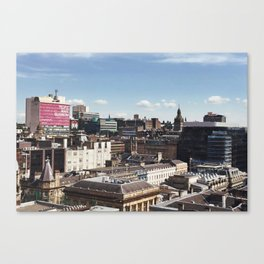 Glasgow with a view Canvas Print
