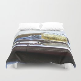 Cigar Time Duvet Cover