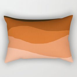 Choice - retro 70s style vibes sunset mountains desert ocean minimalist decor hipster 1970s Rectangular Pillow