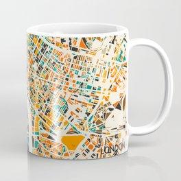 London Mosaic Map #4 Coffee Mug