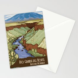 Vintage poster - Rio Grande Del Norte Stationery Cards