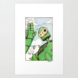 Chiizu! Art Print