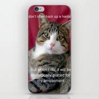 meme iPhone & iPod Skins featuring TJ Meme by Frankie Cat