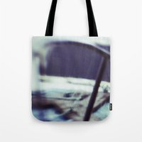 jaws Tote Bags featuring JAWS by neutral density