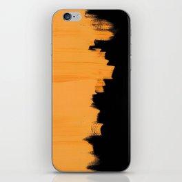 Orange impact iPhone Skin