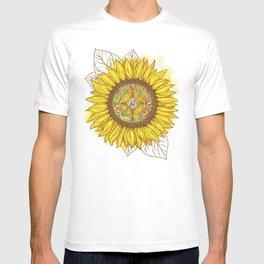 Sunflower Compass T-shirt