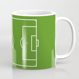 Football field fun design soccer field Coffee Mug