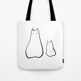 Ghost cats Tote Bag