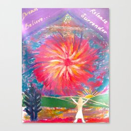 Manifestation Canvas Print
