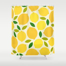 Lemon Shower Curtain