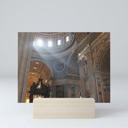 St. Peter's Basilica Mini Art Print