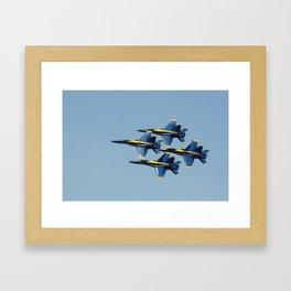 United States Navy Blue Angels Framed Art Print