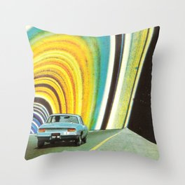 Nuova circonvallazione 38 Throw Pillow