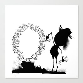 The Letter O Canvas Print