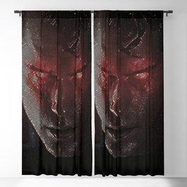 Superman Artistic Illustration Star Style Blackout Curtain