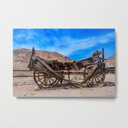 Calico Ghost Town - 7049, California Metal Print