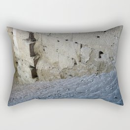 Stairway from the past. Rectangular Pillow