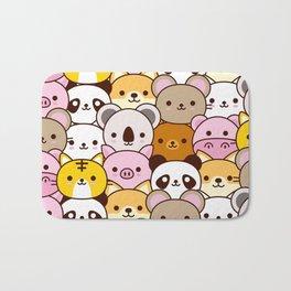 Cute baby animals  Bath Mat