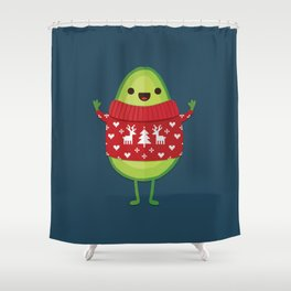 AVO MERRY CHRISTMAS Shower Curtain