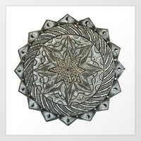 Handmade Mandala Second Edition Art Print