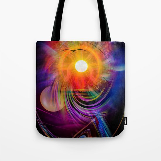 Abstract - Perfkektion - Sunset Tote Bag