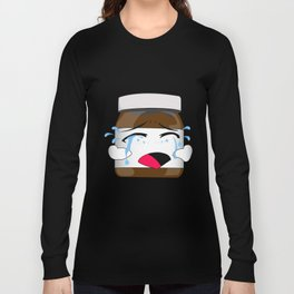 Nutella expression mood nutCry Long Sleeve T-shirt