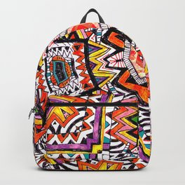 Tribal Abstract Backpack