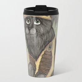 King Kitty Cat Travel Mug