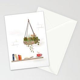 Coffee and Books Stationery Cards