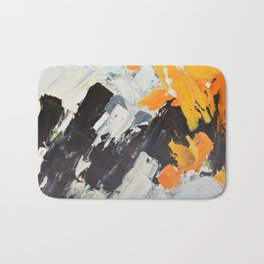 December Lights Bath Mat