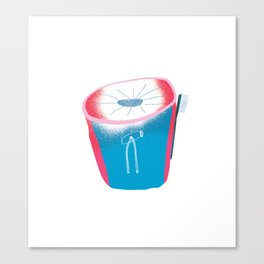 Chalk Baggin' Canvas Print