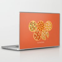 matisse Laptop & iPad Skins featuring Olympizza by Matisse Lin