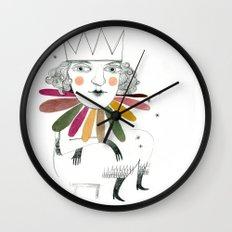 queen margherita Wall Clock