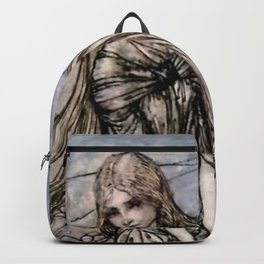 """Arthur Rackham Fairy Art from """"Undine"""" Backpack"""