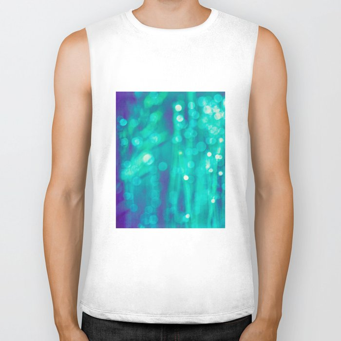 beneath the sea Biker Tank