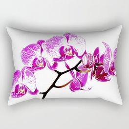 Orchidea, flower Rectangular Pillow